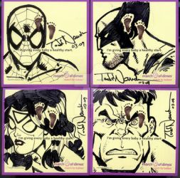 March of Dimes cards 1 '09 by ToddNauck