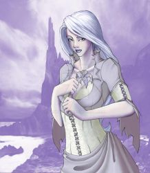 Ice Queen colored by Santatory