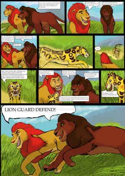 Comic page 1 for DevinitialTLK's contest by Wolfsea