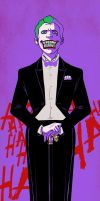 Suicide Squad - Joker bookmark by blacksmiley