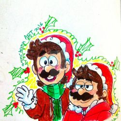 SMB: Merry (early) Christmas by TairusuKU