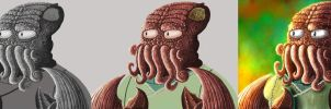 Proceso Dr Zoidberg by IsaacMontoya