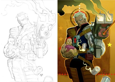 Cable cover pencils to paint by DeanWhite