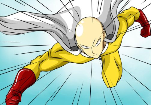 Saitama-One Punch Man by Alex6556