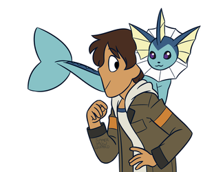 Pokemon AU 1 by summer-draws