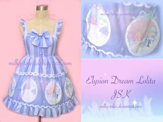 Elysion Dream Lolita JSK by milky-tales