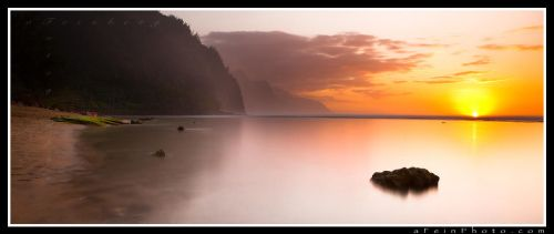 The Sun's Retreat by aFeinPhoto-com
