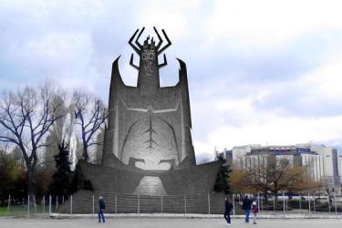 A possible Aku moument in Sofia, Bulgaria by borismiku