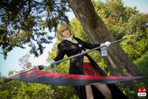 Maka and Soul scythe by Rocchan94