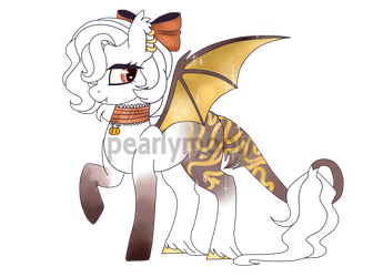 Autumn Bat Pony | Auction | CLOSED by pearlymoon