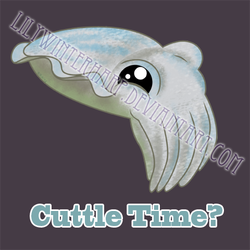 Cuttle Time? by LilyWinterharp