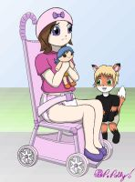 Cmm:Polly In stroller by PrincessPolly63