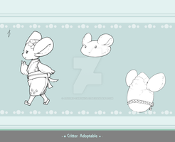 Critter Adoptable - Toppo Monk SOLD by Asgard-Chronicles