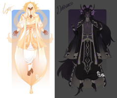 [Deities] Auction-- I (closed) by Pixel-Latte