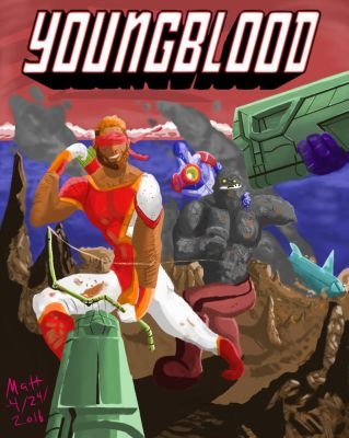 Youngblood Cover: Redesign by M-L-Prometheus