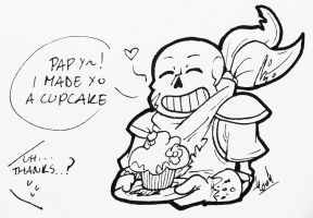 Have a Cupcake! by SilverSoo