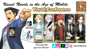 Visual Novel Conference Title by lawrencebrenner