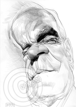 Cormac McCarthy by RussCook