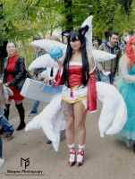 Ahri Cosplay by Maspez