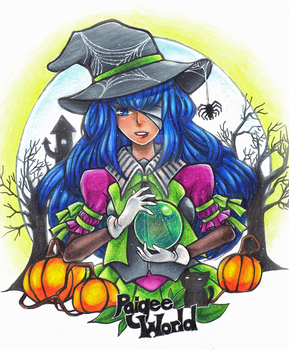 The Witch Aoi by YuffieTheSwift