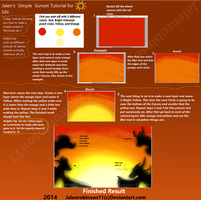 Sunset Tutorial by jalenrobinson11