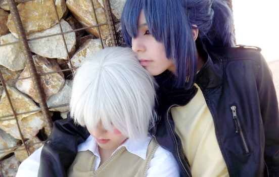 Nezumi and Shion by doodle-disaster