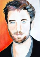 Robert Pattinson by audamay