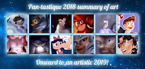 .:2018 Summary of Art:. by Pan-tastique