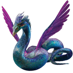 Fantastic Beasts - Occamy PNG by DavidBksAndrade