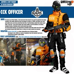 CCK Cop|Getting up Content Under Pressure by Pino44io