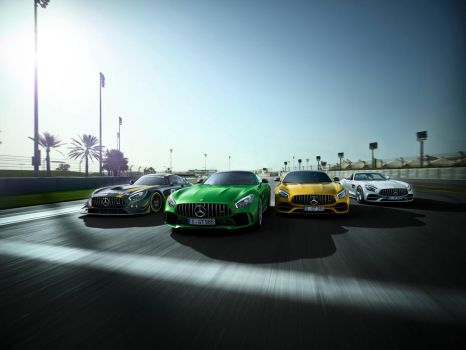 50 Years Of Mercedes-AMG by CarreraX