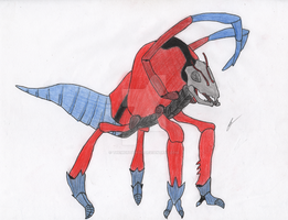 What if Ant-man was a Kaiju? by TheMortanoid