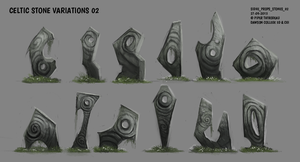 DAY 312. Sidhe - Celtic Stones 02 by Cryptid-Creations