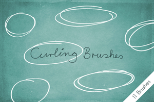Curling Brushes by byjanam