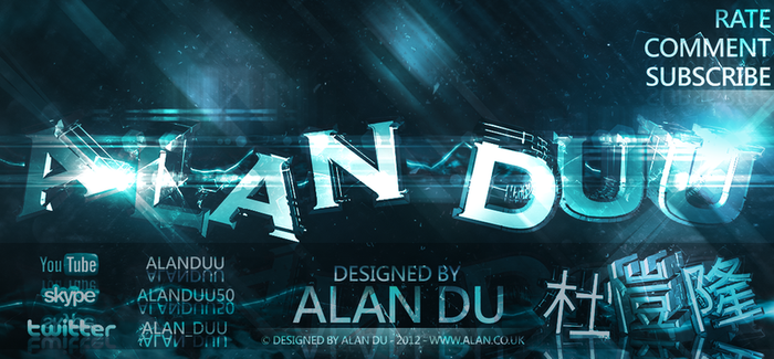 Alan Du: C4D/Photoshop by AlanDu