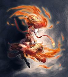Fire punch---Nidia by bome830