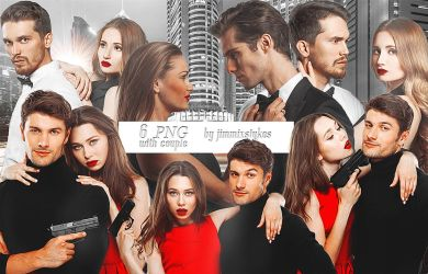COUPLE PNG PACK // #6 PNG PHOTO by JIMMIXSTYKES