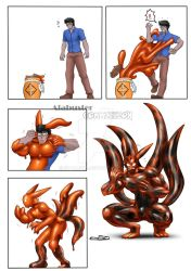 Jinchuuriki Nine Tails Suit : Goo TF by St-Alpha
