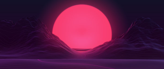 Sunset 3440x1440 by AxiomDesign