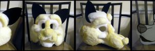 Canine Head Base SOLD! by WindWo1f