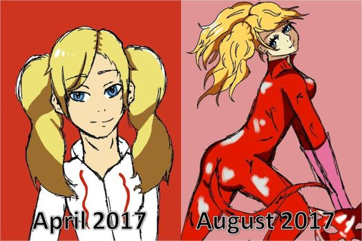 Ann style prgression by epicbubble7