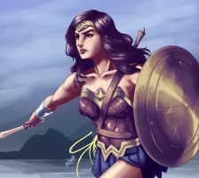 Wonder Woman by Art1derer