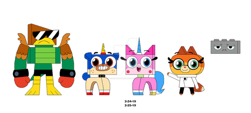 Unikitty and Friends by Toaoflight3690