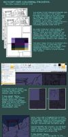 Coloring in MS Paint: VF step-by-step by sulfurbunny
