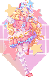 [+Speedpaint][Commission] The sweetest energy by Umika-chi