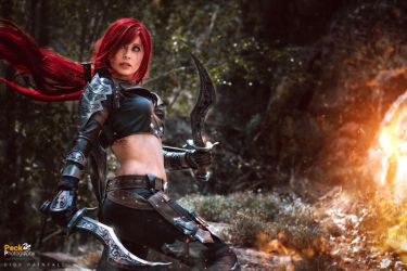 LoL - Katarina: Let the bloodshed begin! by DidsRainfall