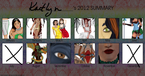 Art Meme 2012 by kaitttlynnn
