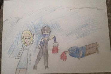elsa happy and sub zero kill jack frost by kari5