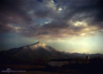 In front of the mountain by Vittorio-Pellazza