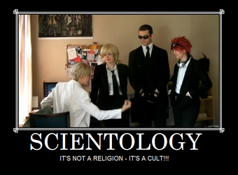 Scientology by Majinen